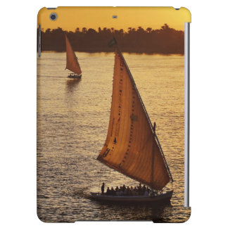 Three falukas with sightseers on Nile River at iPad Air Case