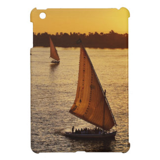Three falukas with sightseers on Nile River at iPad Mini Covers