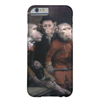 Three Fancy Monkeys Barely There iPhone 6 Case