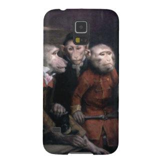 Three Fancy Monkeys Galaxy S5 Case