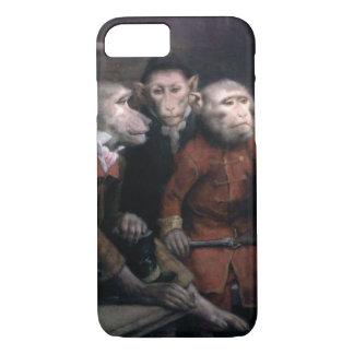 Three Fancy Monkeys iPhone 8/7 Case