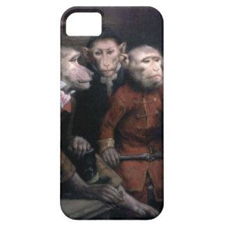 Three Fancy Monkeys iPhone SE/5/5s Case