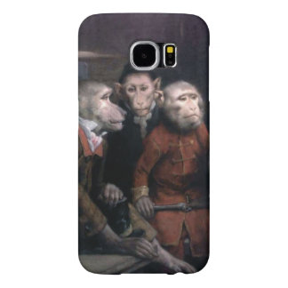 Three Fancy Monkeys Samsung Galaxy S6 Case