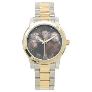 Three Fancy Monkeys Wrist Watch