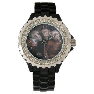 Three Fancy Monkeys Wristwatch