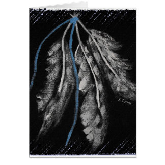 Three Feathers-The Trinity Greeting Card