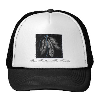 Three Feathers-The Trinity Trucker Hat