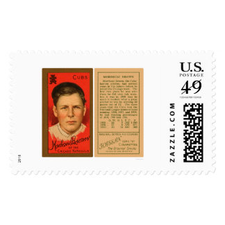 Three Finger Brown Cubs Baseball 1911 Stamps