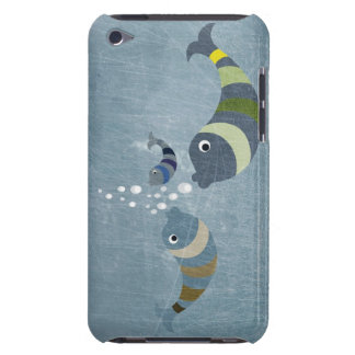 Three Fish Barely There iPod Cover