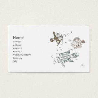 Three Fish Business Card