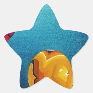 THREE FISH IN MEDIO_result.JPG Star Sticker