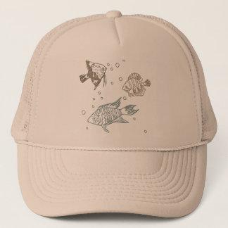 Three Fish Trucker Hat