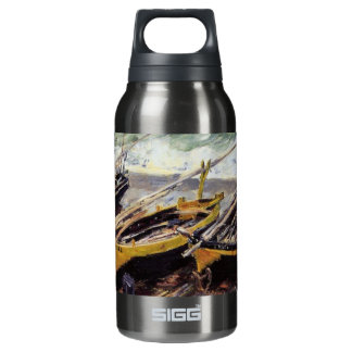 Three Fishing Boats Insulated Water Bottle