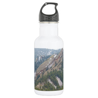 Three Flatirons Boulder Colorado Water Bottle