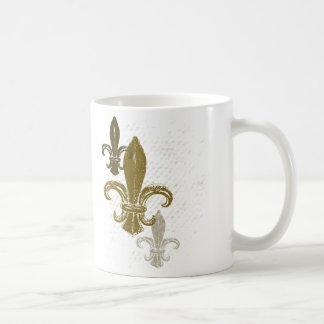 Three Fleur De Lis Coffee Mug