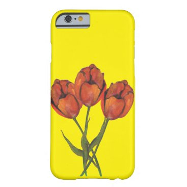 birthday THREE FLOWERS BARELY THERE iPhone 6 CASE