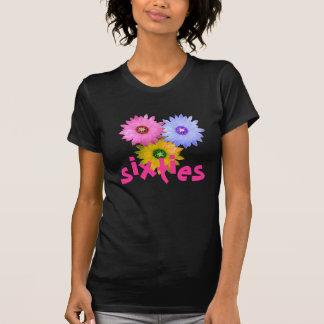 Three flowers of cactus tshirts