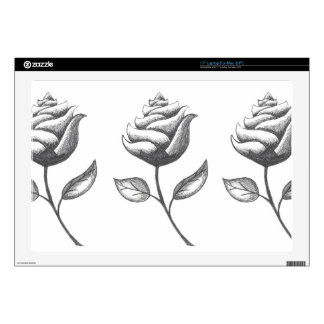 """Three Flowers Skins For 17"""" Laptops"""