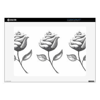 Three Flowers Decals For Laptops