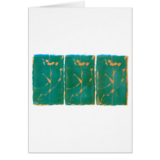 Three Flowers - Washington DC Card