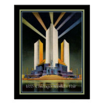 Three Fluted Towers 1933 World's Fair