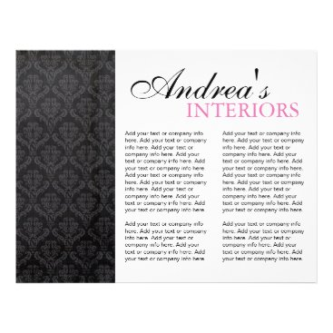 Three Fold Interior Designer Brochure