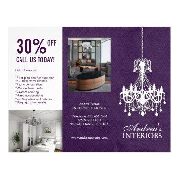Three Fold Interior Designer Brochure