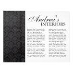 Three Fold Interior Designer Brochure Flyer