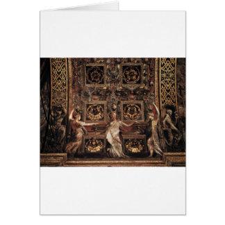 Three Foolish Virgins Flanked Adam and Eve Card