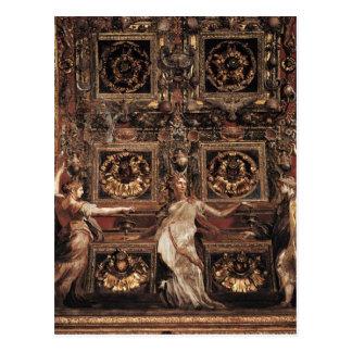 Three Foolish Virgins Flanked Adam and Eve Postcard