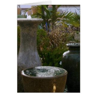 Three Fountains by Ann Finster Card