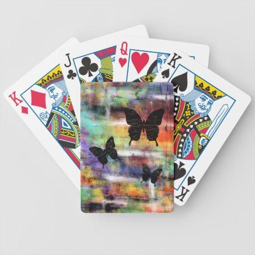 Three Free Butterflies Card Decks
