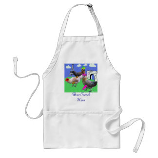 Three French Hens Aprons