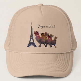 Three French Hens Hat