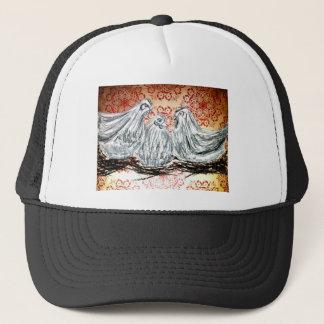 Three French Hens Trucker Hat