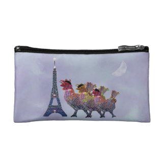 Three French HensCosmetic Bag Cosmetic Bag