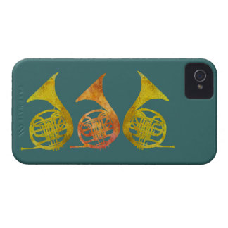 Three French Horns Blackberry Cases
