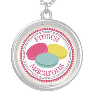 Three French Macarons Custom Jewelry