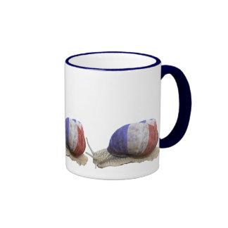 Three French snails Mugs