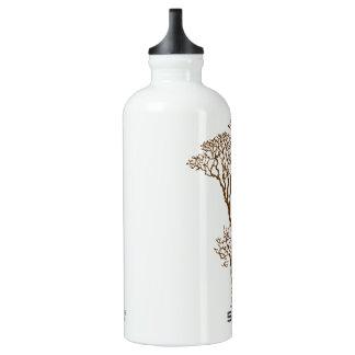 Three friendly aluminum water bottle