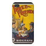 Three Friends Movie Poster iPhone 4/4S Cases