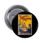 Three Friends Movie Poster Pinback Buttons