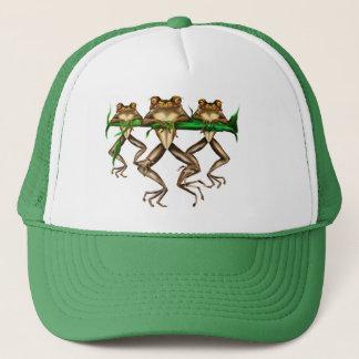 Three Frogs  Hat