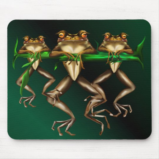 Three Frogs  Mousepad