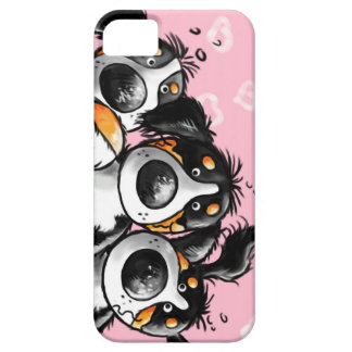 Three Funny Bernese Mountain Dogs iPhone5 Case