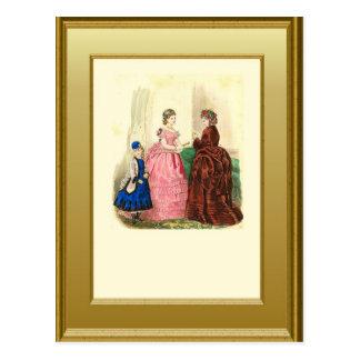 Three generations postcard