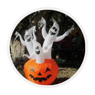 Three Ghosts Frosting Rounds Edible Frosting Rounds