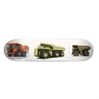 Three Giant Trucks Skate Boards