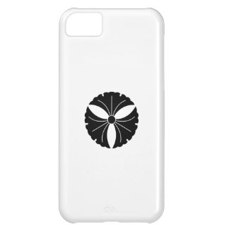 Three ginkgo leaves cover for iPhone 5C
