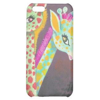 Three Giraffes (Detail) iPhone 5C Case